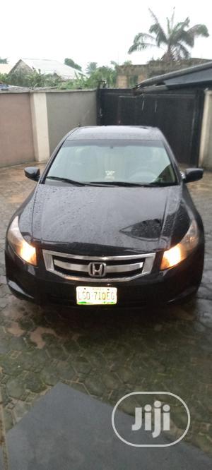 Honda Accord 2008 2.4 EX Automatic Black | Cars for sale in Delta State, Ugheli