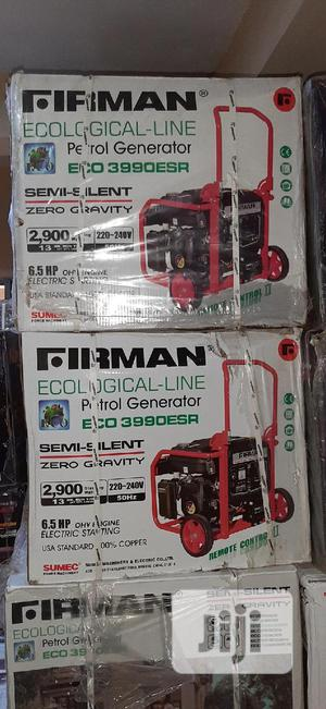 Firman Petrol Generator Set 2.9kva Remote Control   Electrical Equipment for sale in Abuja (FCT) State, Central Business District