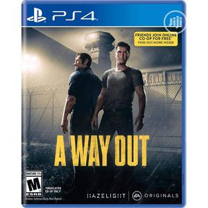Ps4 A Way Out   Video Games for sale in Lagos State, Agege