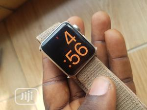 Apple Iwatch Series3 38mm Available At O2mphones | Smart Watches & Trackers for sale in Lagos State, Ikeja