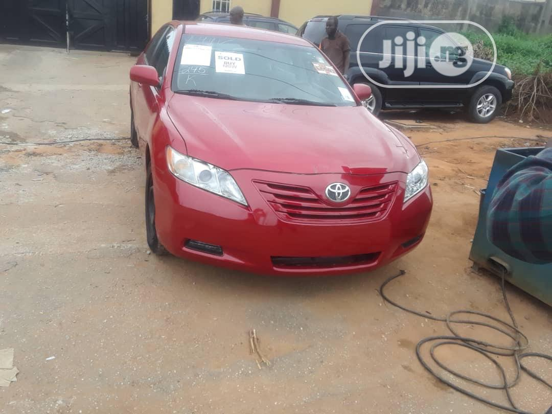 Toyota Camry 2007 Red   Cars for sale in Ikeja, Lagos State, Nigeria