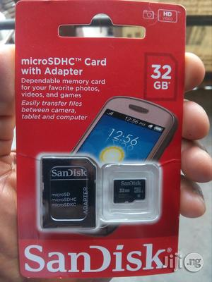 Sandisk Memory Card 32gb | Accessories for Mobile Phones & Tablets for sale in Lagos State, Ikeja