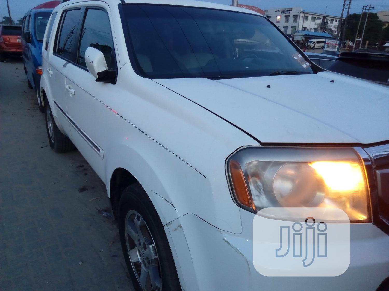 Honda Pilot 2011 White | Cars for sale in Ajah, Lagos State, Nigeria