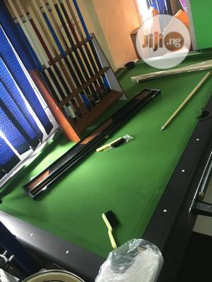Coin Marble Snooker Board With Accessories   Sports Equipment for sale in Ogun State, Abeokuta South