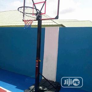 Standard Basketball Stand With Complete Accessories | Sports Equipment for sale in Lagos State, Surulere