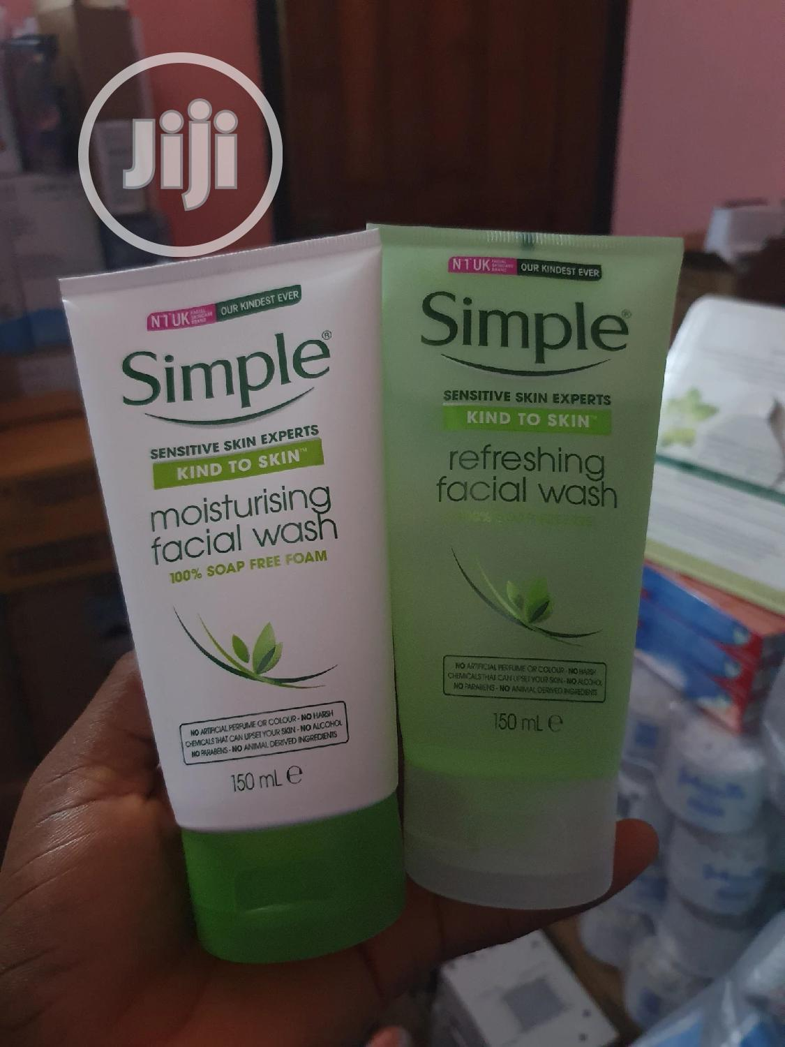 Archive: Simple Facial Wash X 1pc at 2000