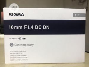 Sigma 16mm F/1.4 DC DN Contemporary Lens For Sony E | Accessories & Supplies for Electronics for sale in Rivers State, Port-Harcourt