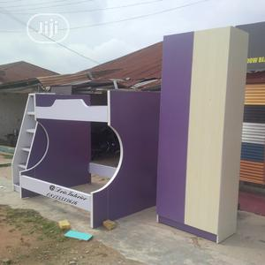 Baby Bunk Bed With Wardrobe.   Children's Furniture for sale in Lagos State, Surulere