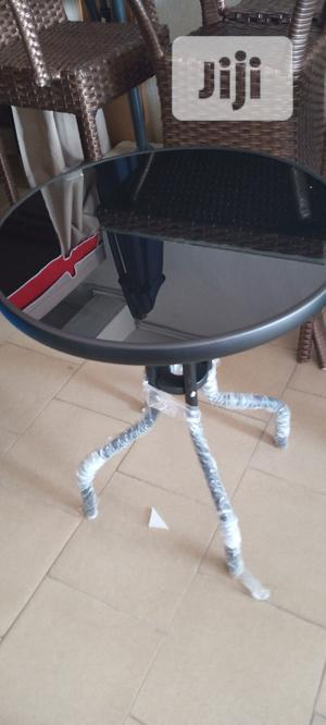 Stand Restaurant Table With Glass | Furniture for sale in Lagos State, Ojo
