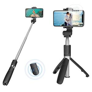 Wireless Selfie Stick Tripod (With Remote)   Accessories for Mobile Phones & Tablets for sale in Lagos State, Surulere