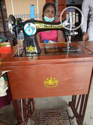 Two Lion Domestic Sewing Machine On Folding Table | Home Appliances for sale in Lagos State, Mushin