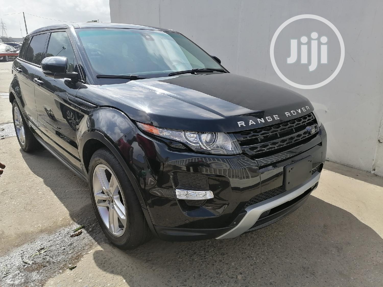 Land Rover Range Rover Evoque 2013 Black   Cars for sale in Apapa, Lagos State, Nigeria