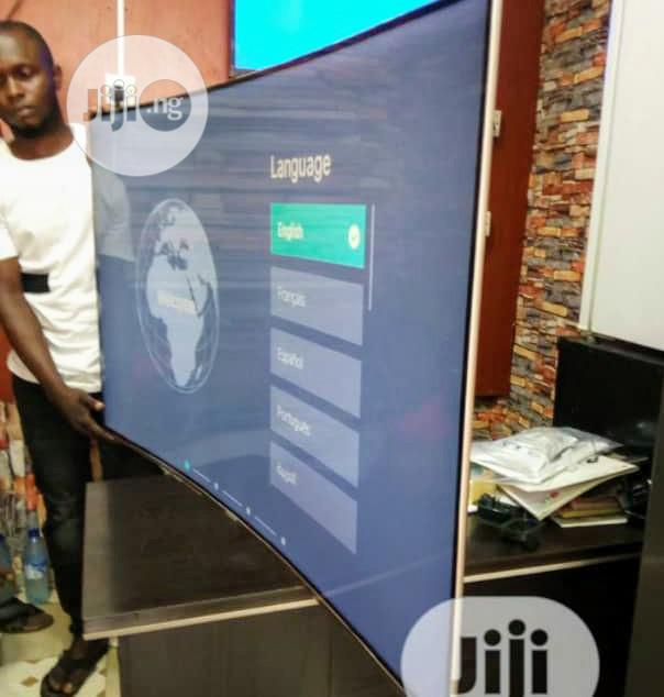 "Archive: 2020 HISENSE 55""Inch 4k Ultra HD 7 Series Smart Curve Tv"