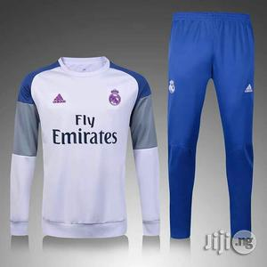 Real Madrid Tracksuit | Clothing for sale in Lagos State, Ikeja
