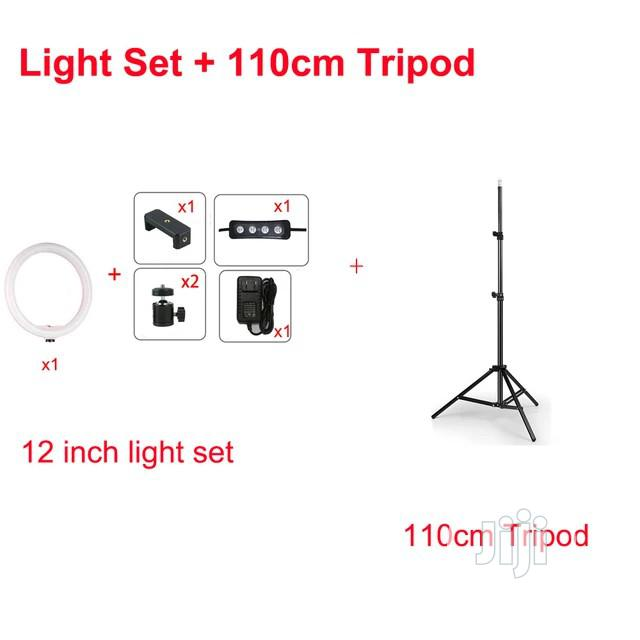 12inch Dimmable LED Studio Camera Ring Light | Accessories & Supplies for Electronics for sale in Lekki, Lagos State, Nigeria