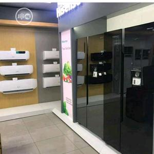 Brand New Hisense Side By Side Fridge With Water Dispenser | Kitchen Appliances for sale in Lagos State, Ojo