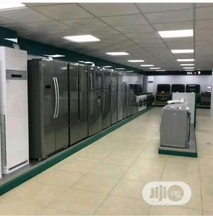 Brand New Hisense Side by Side Fridge 520L,External,Silver | Kitchen Appliances for sale in Lagos State, Ojo