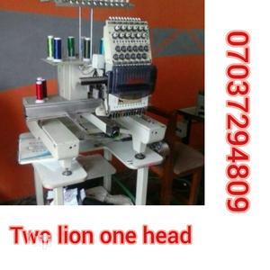 Two Lion One Head Monogram Machine | Manufacturing Equipment for sale in Lagos State, Lagos Island (Eko)