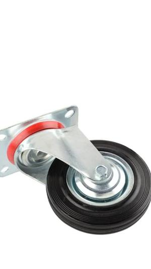 """Caster Wheel 6""""/150mm 1set Is 4pics 