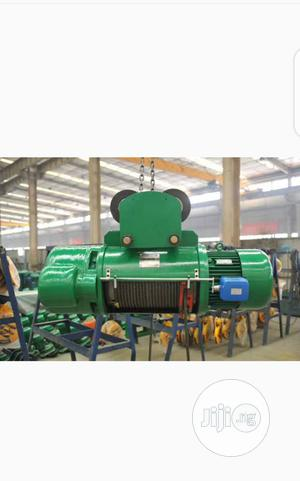 3 Tons Wire Rope Electric Hoist | Manufacturing Equipment for sale in Lagos State, Ikeja