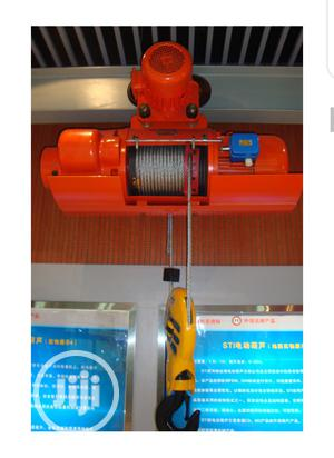 2 Tons Wire Rope Electric Hoist | Manufacturing Equipment for sale in Lagos State, Ikeja