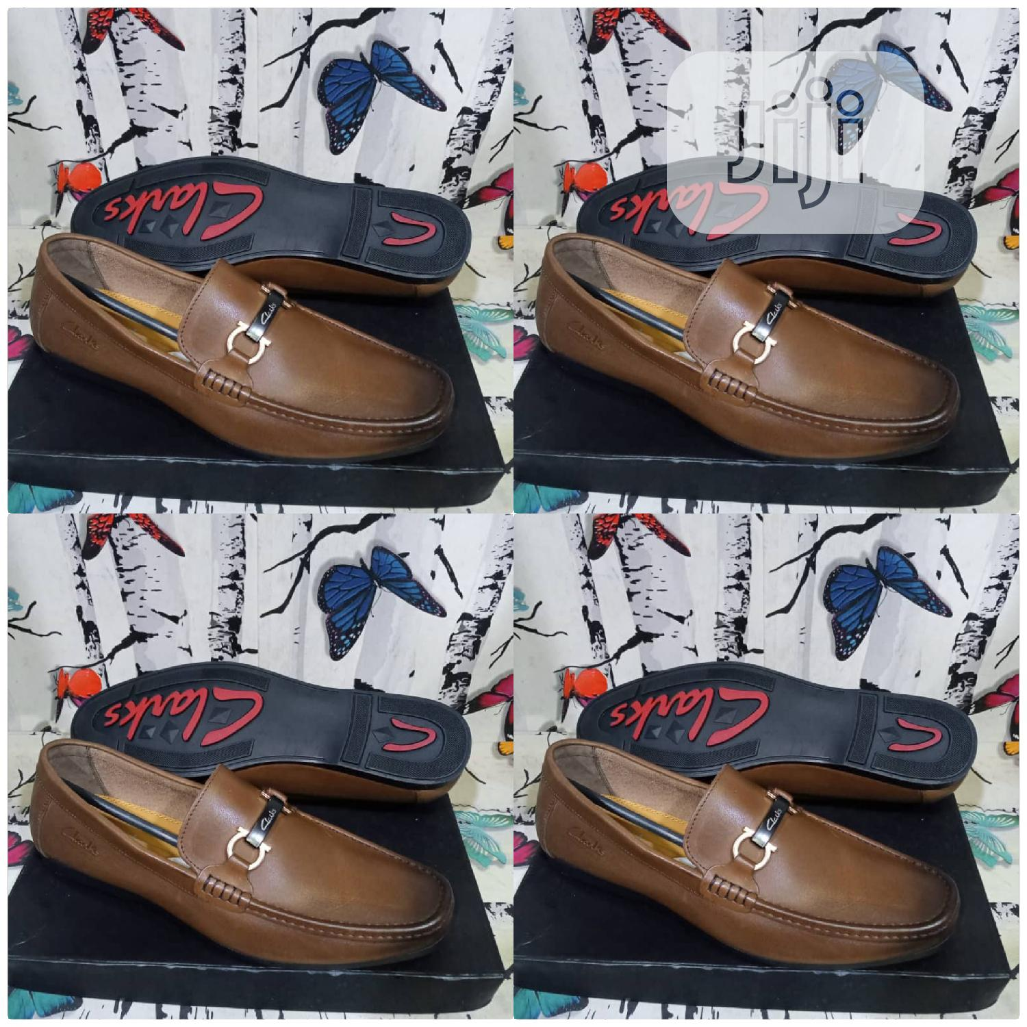 Clarks Loafers Shoes Original Quality | Shoes for sale in Surulere, Lagos State, Nigeria