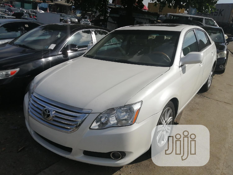 Toyota Avalon 2006 Limited White