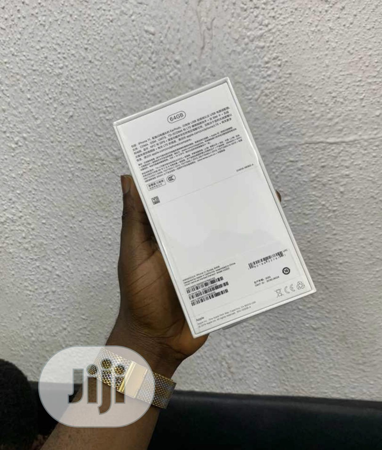 New Apple iPhone 11 64 GB Purple | Mobile Phones for sale in Ikeja, Lagos State, Nigeria