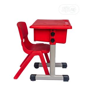 Plastic Chair With Table   Children's Furniture for sale in Lagos State, Surulere
