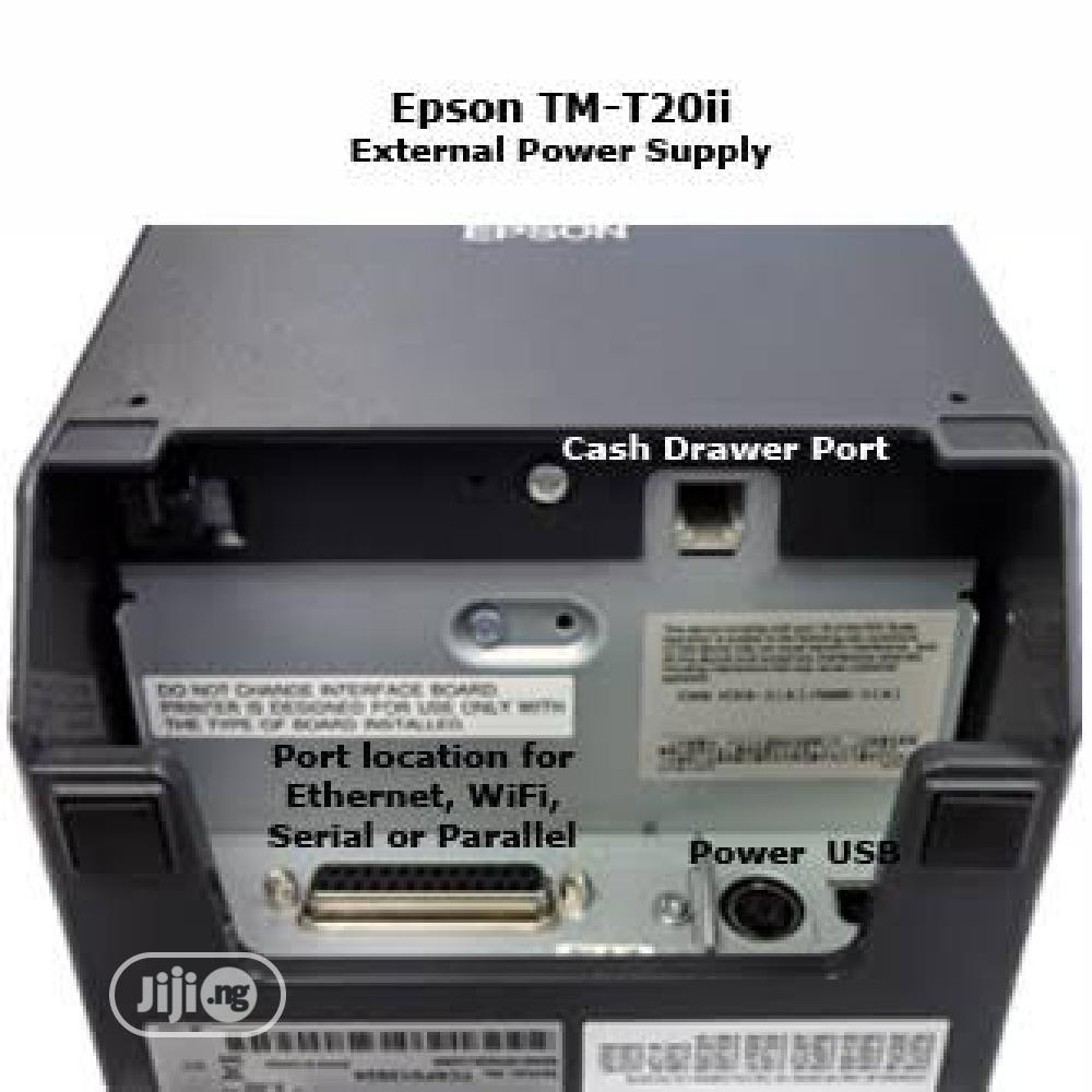 Epson TM-T20II Thermal POS Receipt Printer   Store Equipment for sale in Ikeja, Lagos State, Nigeria