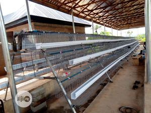 120 Capacity Galvanized Cage   Farm Machinery & Equipment for sale in Oyo State, Ibadan