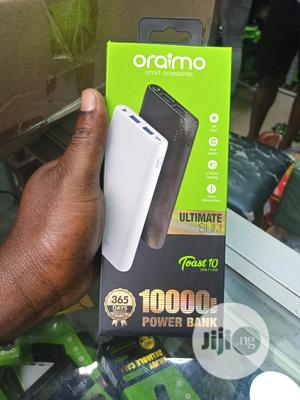 Oraimo Toast 10, P106D, Ultra Slim 10000mah Power Bank | Accessories for Mobile Phones & Tablets for sale in Lagos State, Ikeja