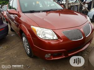 Pontiac Vibe 2005 1.8 AWD Red   Cars for sale in Lagos State, Apapa