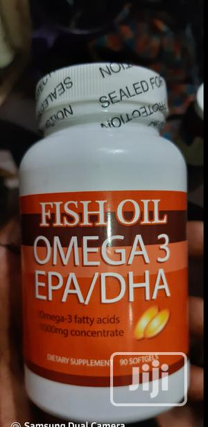 ORIGINAL- Fish Oil Omega 3 Memory Brain Support | Vitamins & Supplements for sale in Abuja (FCT) State, Galadimawa