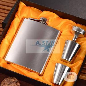 Hip Flask Stainless Steel Set   Kitchen & Dining for sale in Lagos State, Ojo