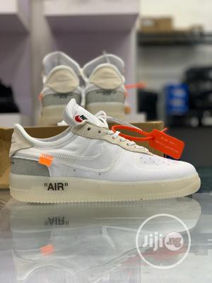 Nike Airforce 1 Low X Offwhite Sneakers Original | Shoes for sale in Lagos State, Surulere