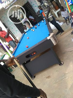 7 and 8 Feet Blue /Green Felt Snooker Table   Sports Equipment for sale in Lagos State, Ogba