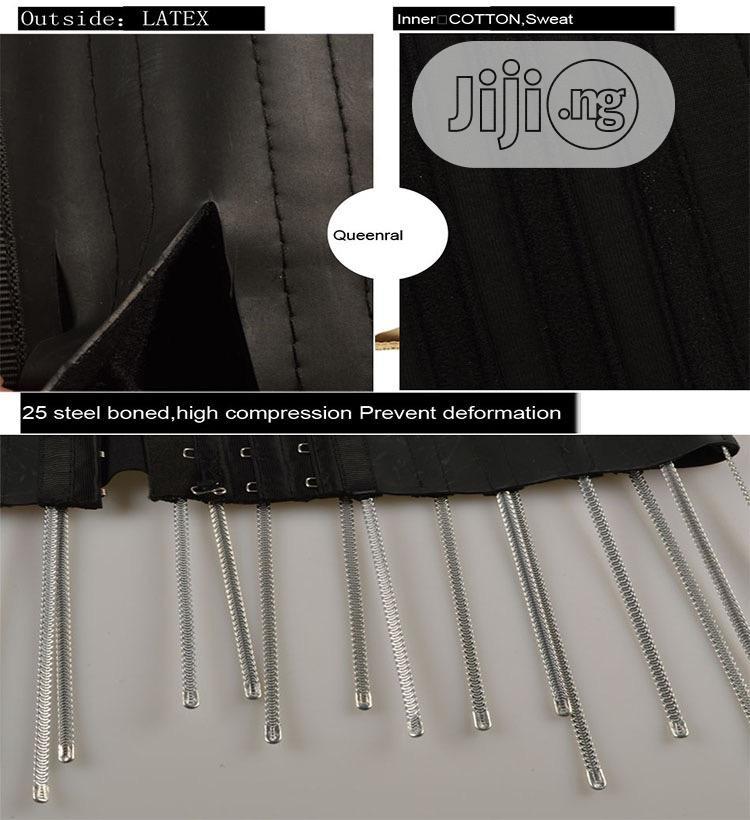 Flat Tummy Belt + Waist Trimmer Belt | Sports Equipment for sale in Ibadan, Oyo State, Nigeria