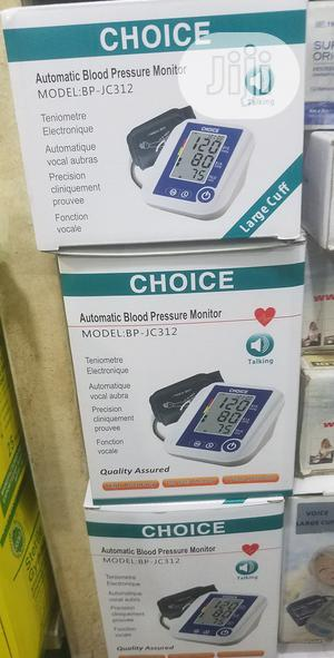 Choice Automatic Blood Pressure Monitor   Medical Supplies & Equipment for sale in Lagos State, Ojo