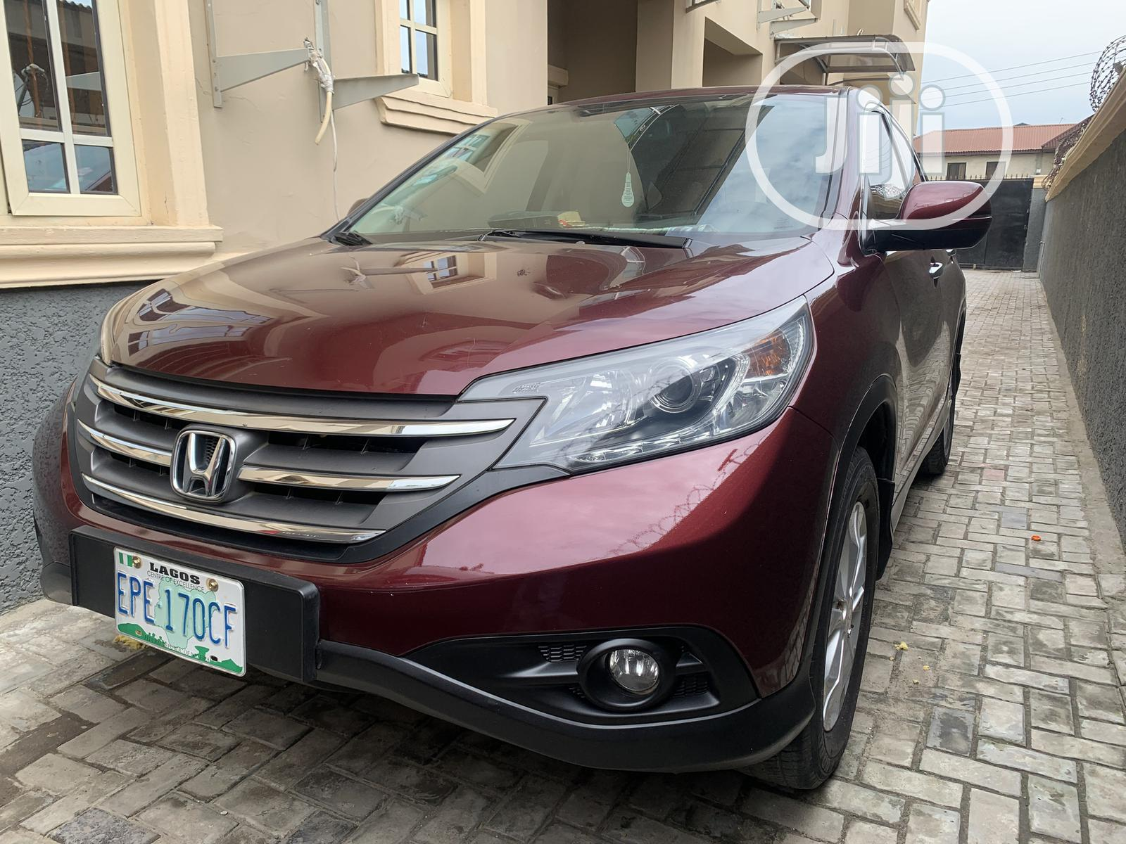 Honda CR-V 2015 Red | Cars for sale in Surulere, Lagos State, Nigeria