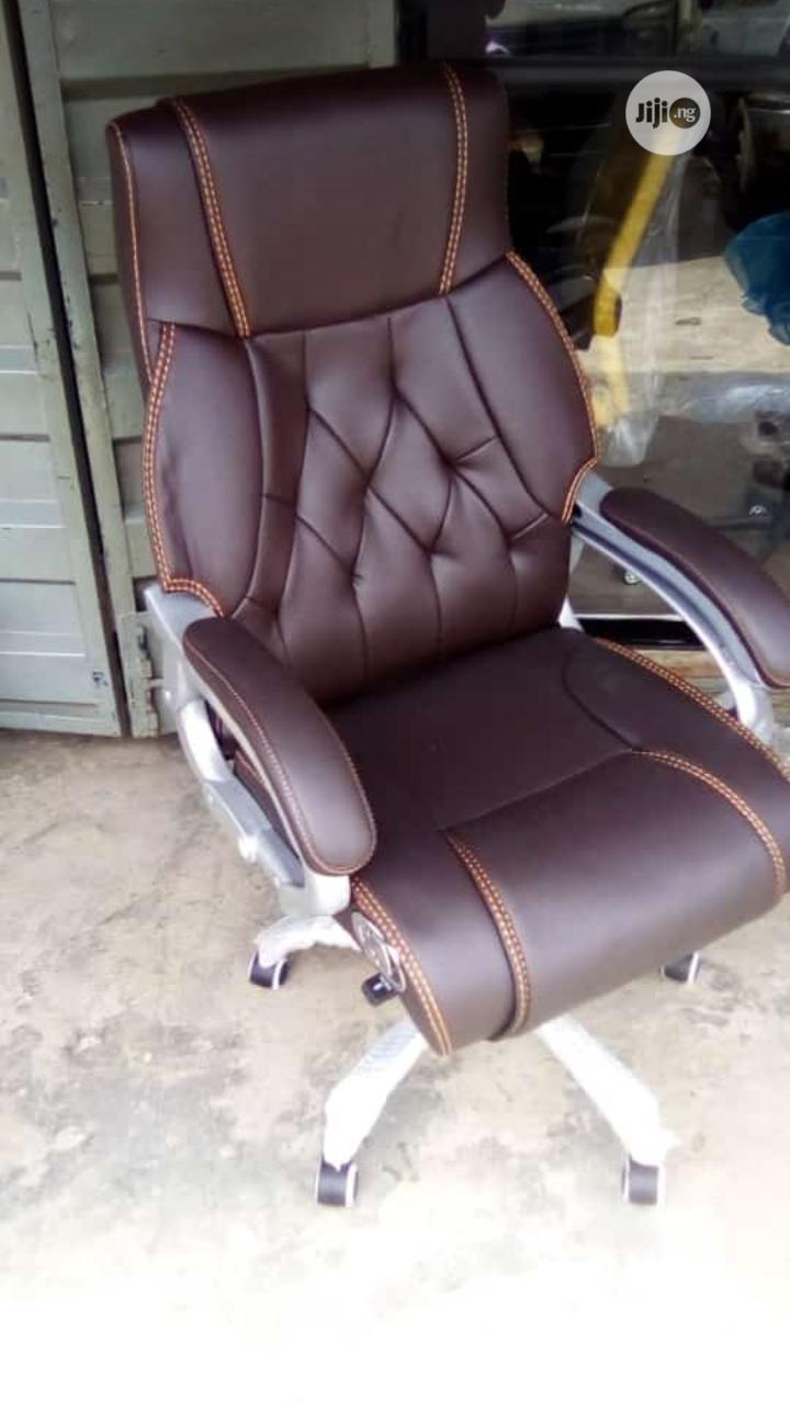 Executive Office Chair(Coffee Brown)