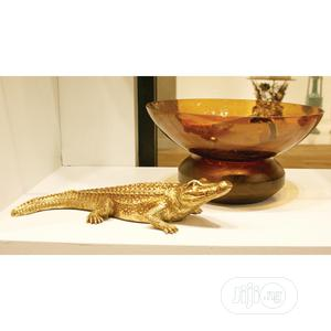 Gold Crocodile Sculpture   Garden for sale in Lagos State, Agege
