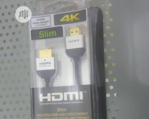 Sony HDMI 4k Cable | Accessories & Supplies for Electronics for sale in Lagos State, Ikeja