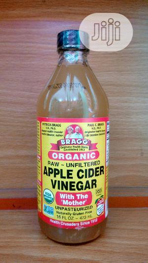 Bragg Organic Apple Cider Vinegar 473ML (16FL OZ) | Vitamins & Supplements for sale in Lagos State, Surulere