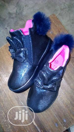Blue High Top Sneakers | Children's Shoes for sale in Lagos State, Lagos Island (Eko)
