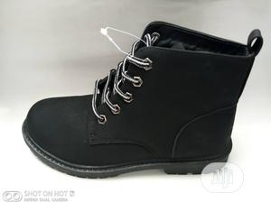 Black High Top Boots | Children's Shoes for sale in Lagos State, Lagos Island (Eko)