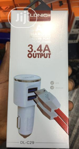 LDNIO Car Charger 3.4A | Accessories & Supplies for Electronics for sale in Lagos State, Ikeja