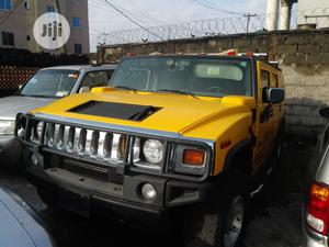Hummer H2 SUV Sport Utility 2005 Yellow | Cars for sale in Lagos State, Oshodi