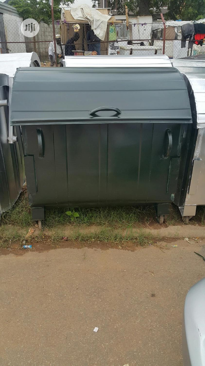 Waste Bin Available