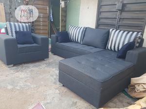Modern Design L Shape With Single | Furniture for sale in Lagos State, Ilupeju